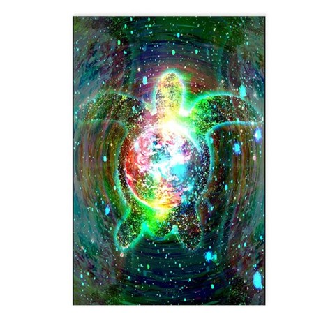 Cosmic Turtle Postcards (Package of 8)