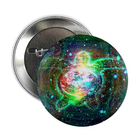 Cosmic Turtle Button
