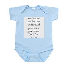 LUKE  18:19 Infant Creeper