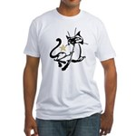 Siamese Cat Royalty Fitted T-Shirt