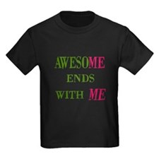 Awesome Ends With Me Kids T-Shirt