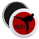 -Riley Karate Magnet