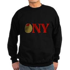 Olive (I Love) NY Sweatshirt