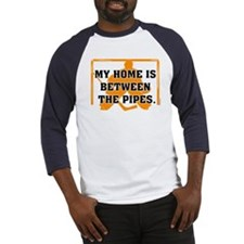 home between the pipes Baseball Jersey