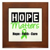 Lymphoma Hope Matters Framed Tile
