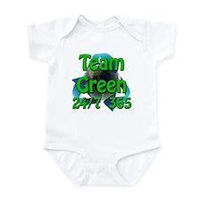 Team Green 24/7 365 Infant Bodysuit