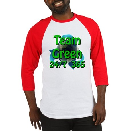 Team Green 24/7 365 Baseball Jersey