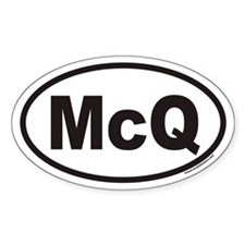 McQ Euro Oval Decal