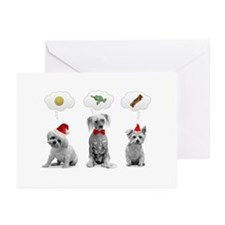 Unique Hairless chinese crested Greeting Cards (Pk of 10)