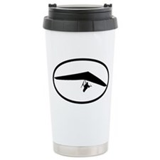 Hang Gliding Ceramic Travel Mug