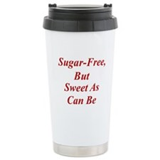 Sugar-Free Ceramic Travel Mug