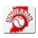 Indiana Baseball Mousepad