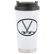 Hockey Ceramic Travel Mug