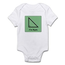I am Right (Triangle) Infant Bodysuit