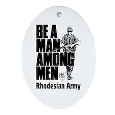 Rhodesian Army Oval Ornament
