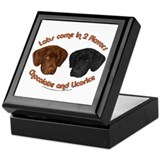 Two Flavors of Labs Keepsake Box