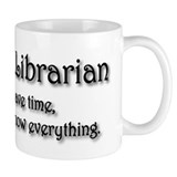 I am a Librarian  Tasse