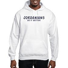 Jordanians do it better Hoodie
