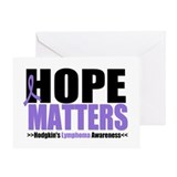 Hodgkin's Hope Matters Greeting Card