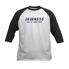 Javanese do it better Tee