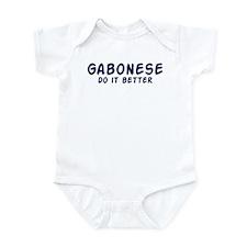 Gabonese do it better Infant Bodysuit