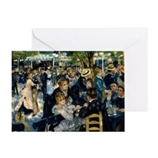 Renoir Moulin de la Galette Greeting Card