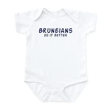 Bruneians do it better Infant Bodysuit