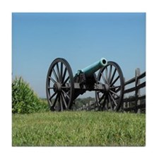 Cannon at Antietam Tile Coaster