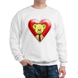 Teddy Bear Heart Sweatshirt