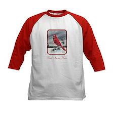 Cardinal on Pine Tee