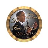 "Let Peace Reign 3.5"" Button (100 pack)"