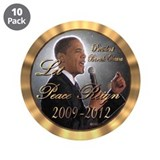 "Let Peace Reign 3.5"" Button (10 pack)"