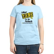 I Wear Gold For My Patients 8 T-Shirt