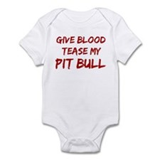 Tease aPit Bull Infant Bodysuit