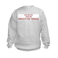 Tease aSmooth Fox Terrier Sweatshirt