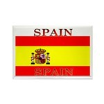 Spain Spanish Flag Rectangle Magnet (100 pack)