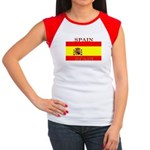 Spain Spanish Flag Women's Cap Sleeve T-Shirt