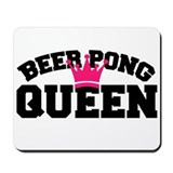 Cute Beer pong Mousepad
