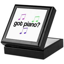 Got Piano Keepsake Box