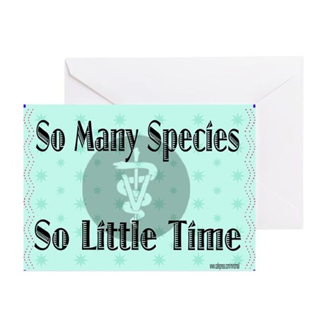 So Many Species Greeting Cards (Pk of 10)