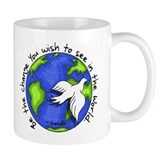 World Peace Gandhi - 2008 Coffee Mug