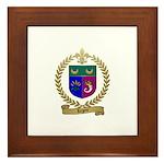 LEGERE Acadian Crest Framed Tile