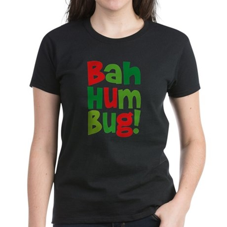 Bah Humbug Women's Dark T-Shirt