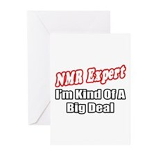 """NMR Expert..Big Deal"" Greeting Cards (Pk of 20)"