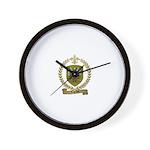 LEGRAND Family Crest Wall Clock