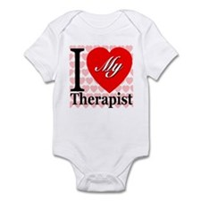 I Love My Therapist Infant Bodysuit
