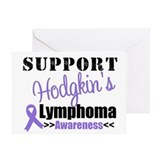 Support Hodgkin's Awareness Greeting Card
