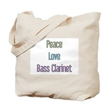 Bass Clarinet Gift Tote Bag