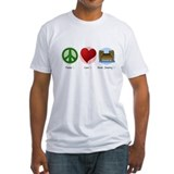 Peace Love Dock Jumping Shirt