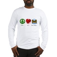 Peace Love Dock Jumping Long Sleeve T-Shirt